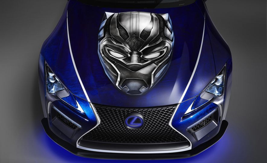 Lexus Black Panther Inspired LC concept - Slide 11