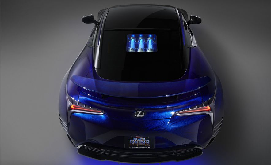 Lexus Black Panther Inspired LC concept - Slide 10