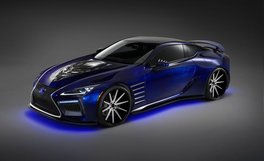 Lexus Black Panther Inspired LC concept - Slide 9