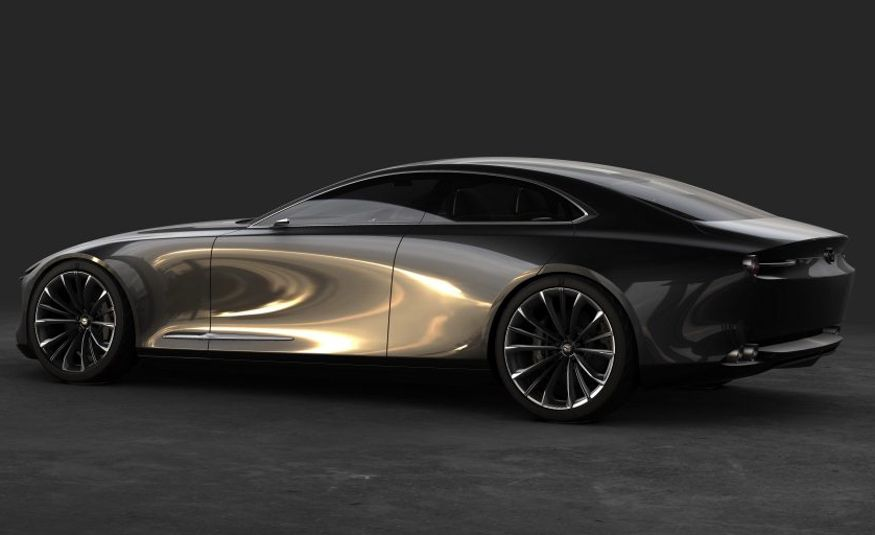 Mazda Vision Coupe concept - Slide 7