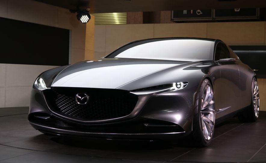Mazda Vision Coupe concept - Slide 13