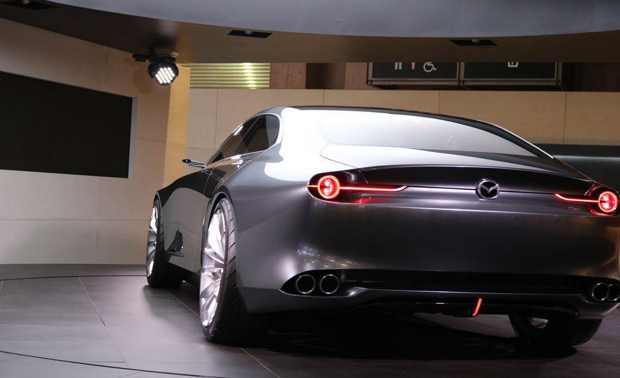 Mazda Vision Coupe concept - Slide 17