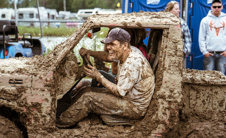 Add Water To Dirt and You Get Mud. Add Beer, Weed, and 15,000 People To Mud and You Get Michigan Mud Jam - Slide 1