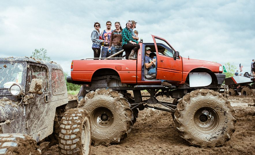 Add Water To Dirt and You Get Mud. Add Beer, Weed, and 15,000 People To Mud and You Get Michigan Mud Jam - Slide 17