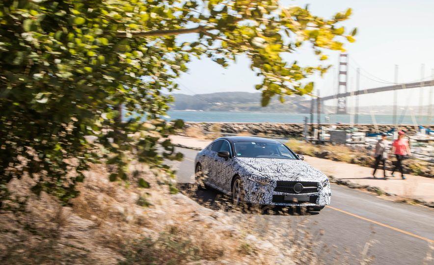 2019 Mercedes-Benz CLS-class prototype - Slide 6