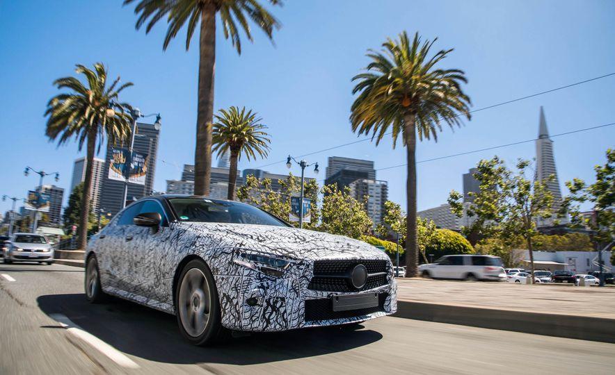 2019 Mercedes-Benz CLS-class prototype - Slide 28