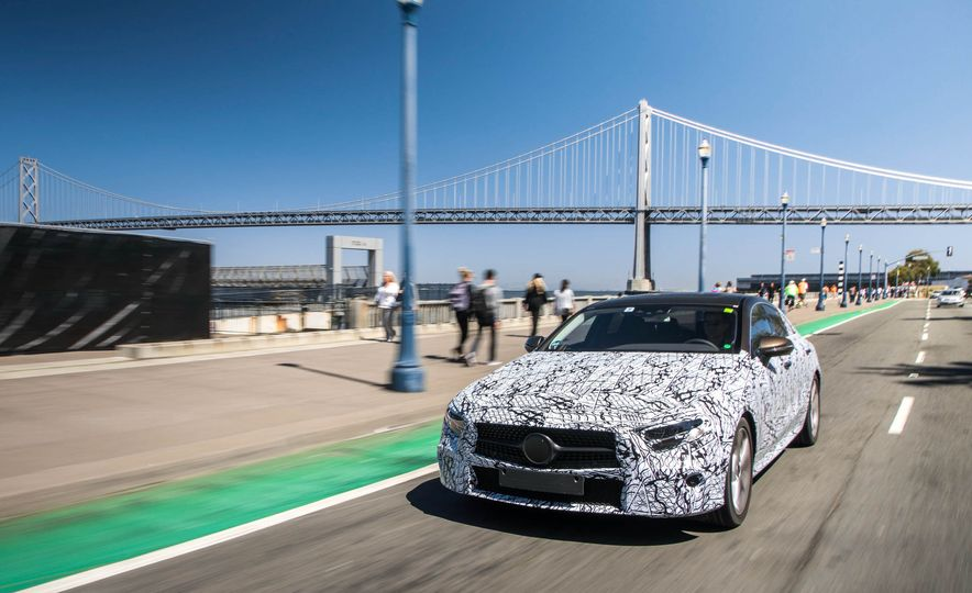 2019 Mercedes-Benz CLS-class prototype - Slide 30