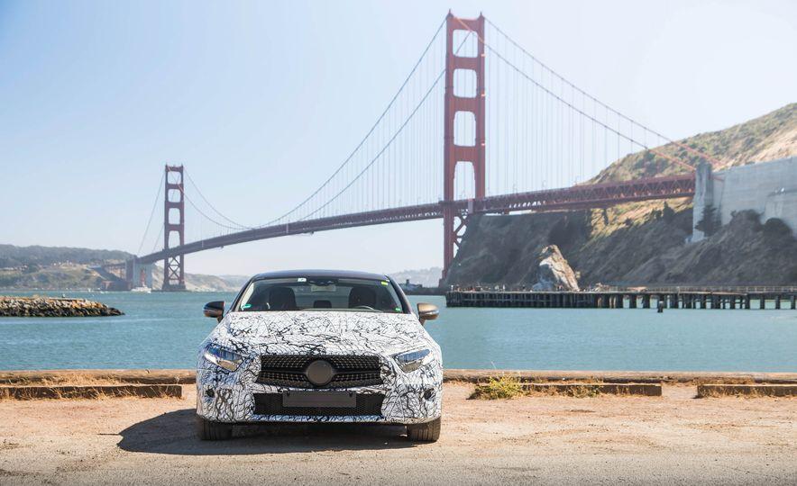 2019 Mercedes-Benz CLS-class prototype - Slide 39