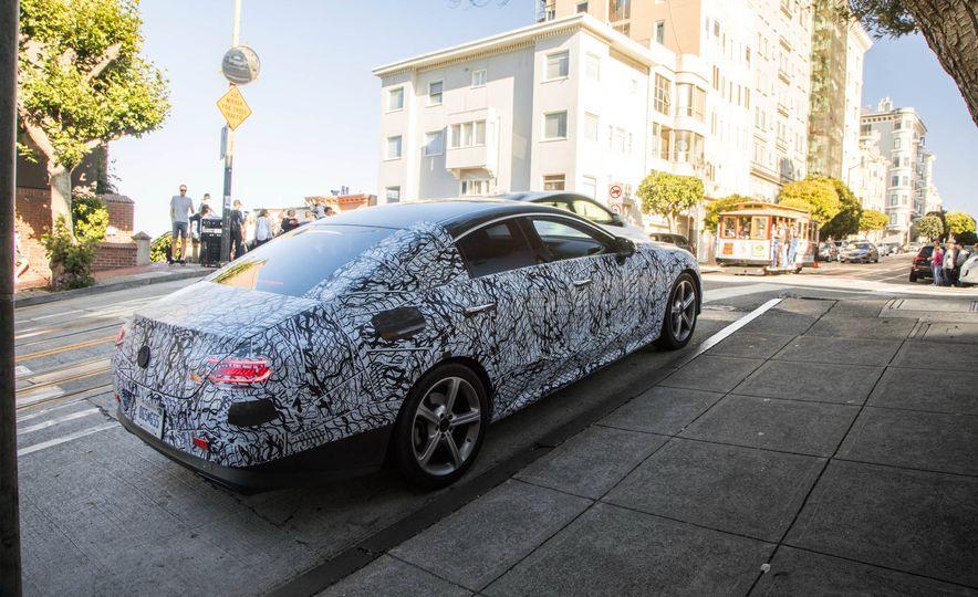 2019 Mercedes-Benz CLS-class prototype - Slide 53