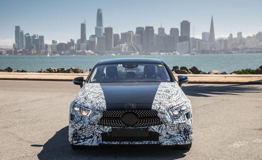 2019 Mercedes-Benz CLS-class prototype - Slide 57
