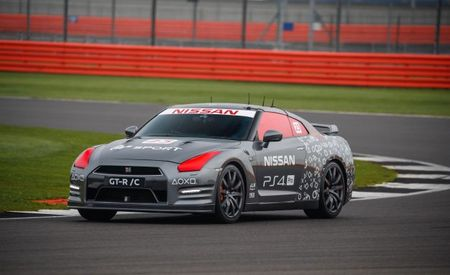 RC Kaiju! Radio-Controlled Full-Size Nissan GT-R Laps Silverstone! [Video]