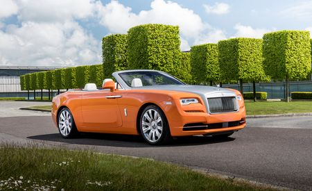 Rolls-Royce Makes Its Neiman Marcus Christmas Catalog Debut with a Duo of Dawns