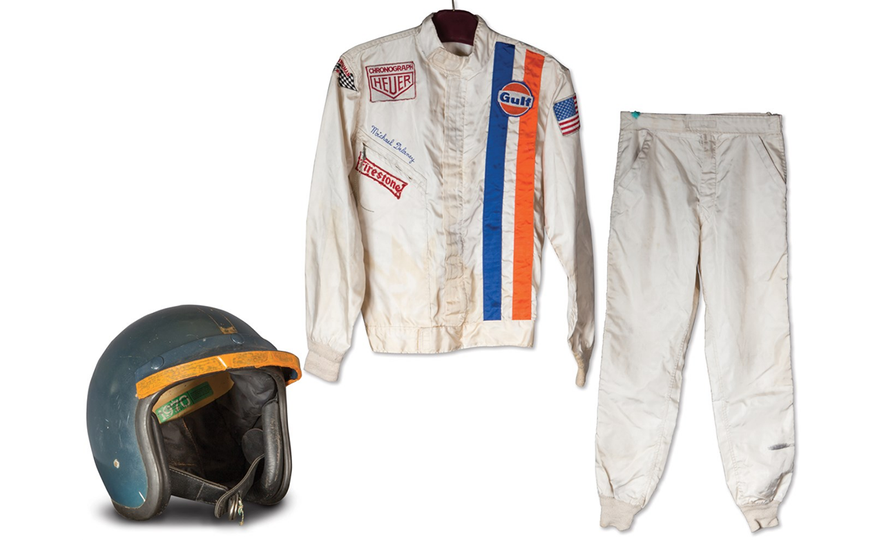 Steve McQueen's Racing Suit and Helmet from Le Mans Movie Headed to Auction - Slide 1