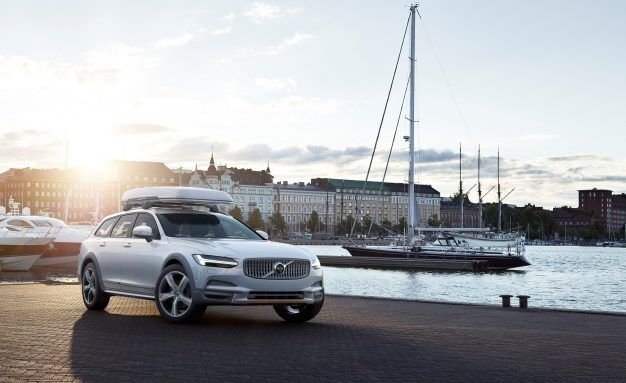 I'm on a Boat: Volvo Shows V90 Cross Country Ocean Race Edition