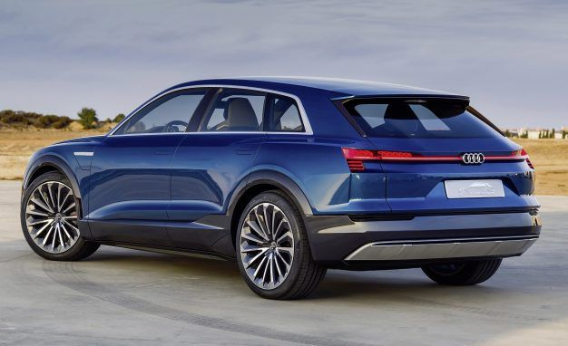 Audi e-tron All-Electric SUVs: New Tech Details on the Model X ...