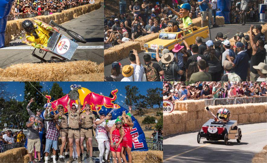 Gravity in Technicolor: 2017 Los Angeles Red Bull Soapbox Race - Slide 1