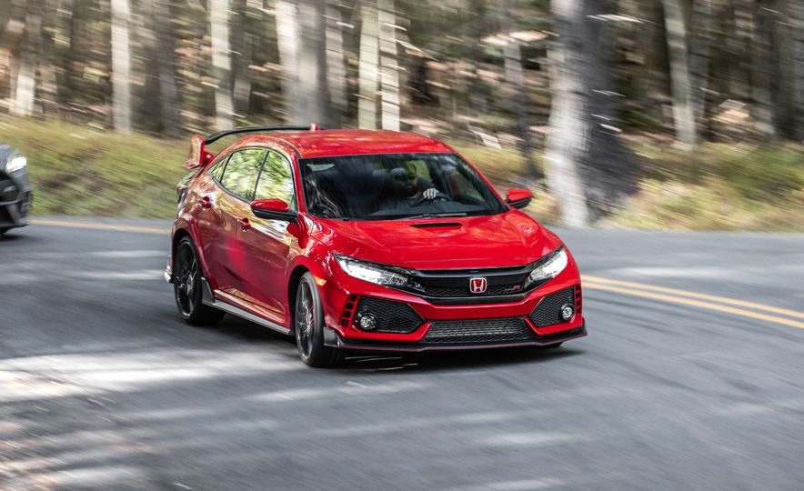 2017 Honda Civic Type R and 2017 Ford Focus RS - Slide 22