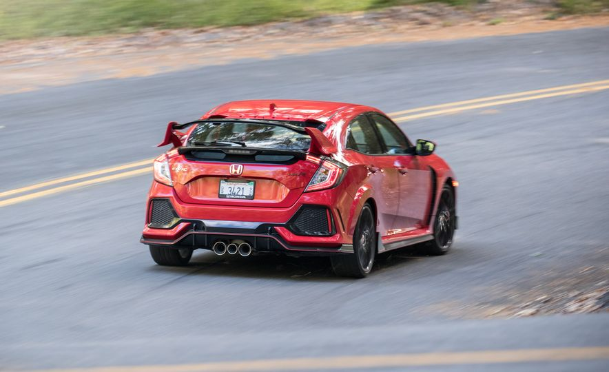 2017 Honda Civic Type R and 2017 Ford Focus RS - Slide 23