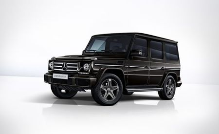 G'bye! Mercedes-Benz Marks G-class's End with a Trio of Special-Edition Models
