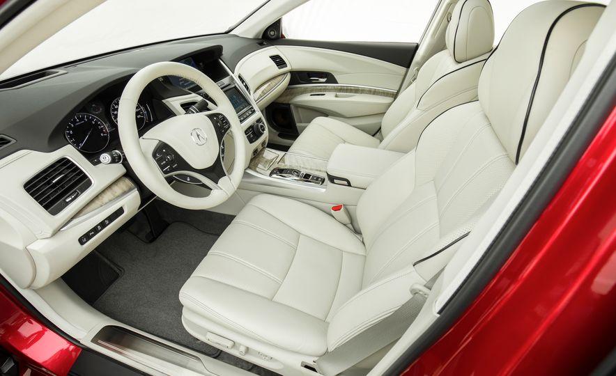 2018 Acura RLX Sport SH-AWD hybrid - Slide 39