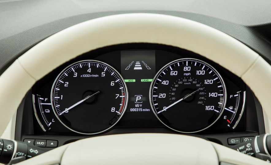 2018 Acura RLX Sport SH-AWD hybrid - Slide 45