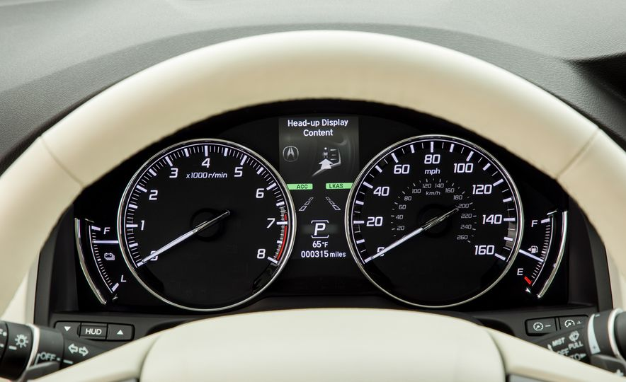 2018 Acura RLX Sport SH-AWD hybrid - Slide 47