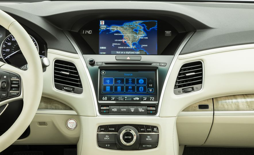 2018 Acura RLX Sport SH-AWD hybrid - Slide 50
