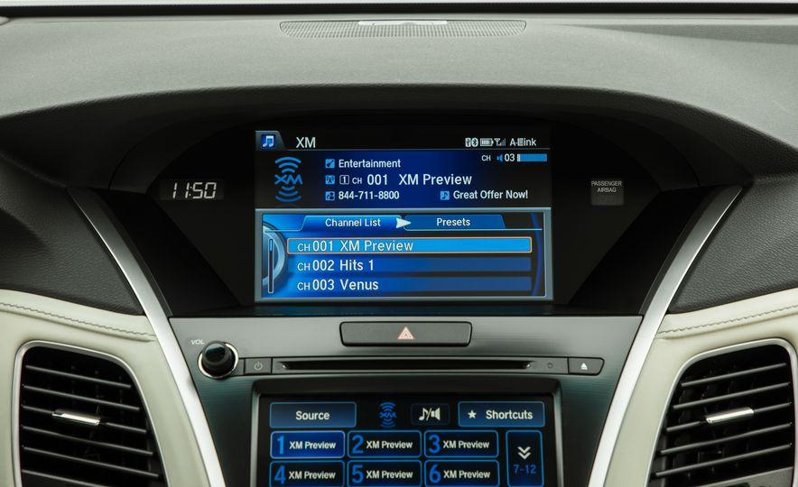 2018 Acura RLX Sport SH-AWD hybrid - Slide 52