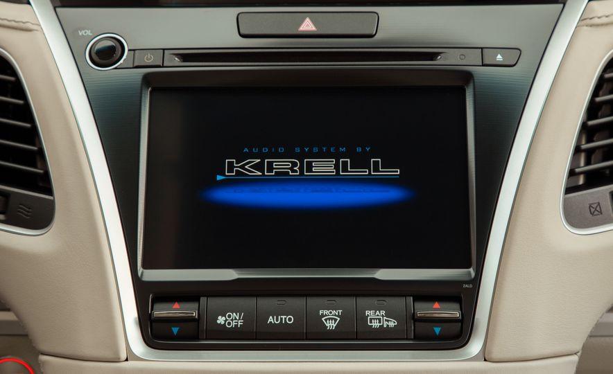 2018 Acura RLX Sport SH-AWD hybrid - Slide 55