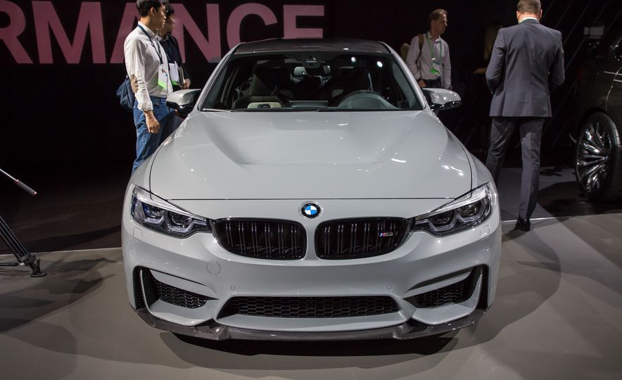 2018 BMW M3 CS - Slide 2