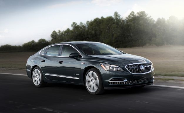 2018 Buick LaCrosse Avenir Arrives for Those Who Miss the Ultras
