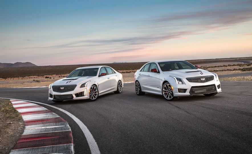 2018 Cadillac ATS-V and CTS-V Championship Editions - Slide 1