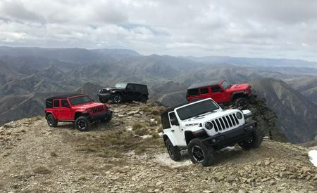 We Just Drove the New Jeep Wrangler; Here Are a Ton of Photos