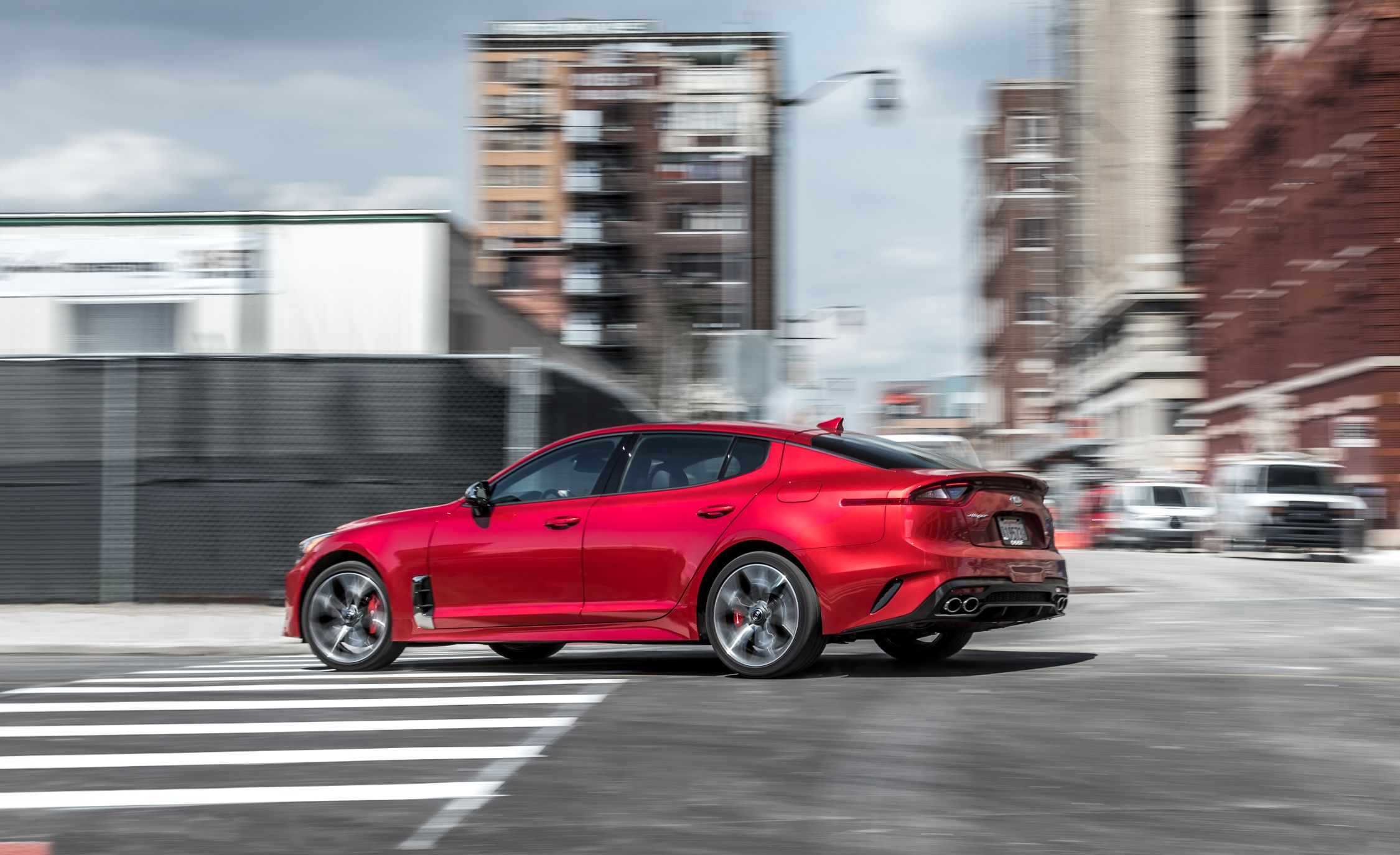 the detroit car stinger cars sizzles production vrg that of show kia auto sedan verge sports practical a thumb in vho is sea