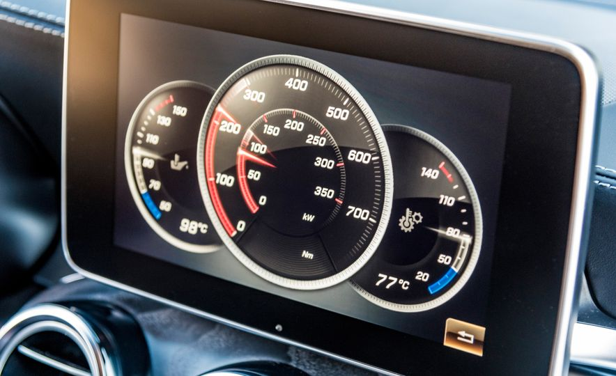2018 Mercedes-AMG GLC63 S - Slide 50