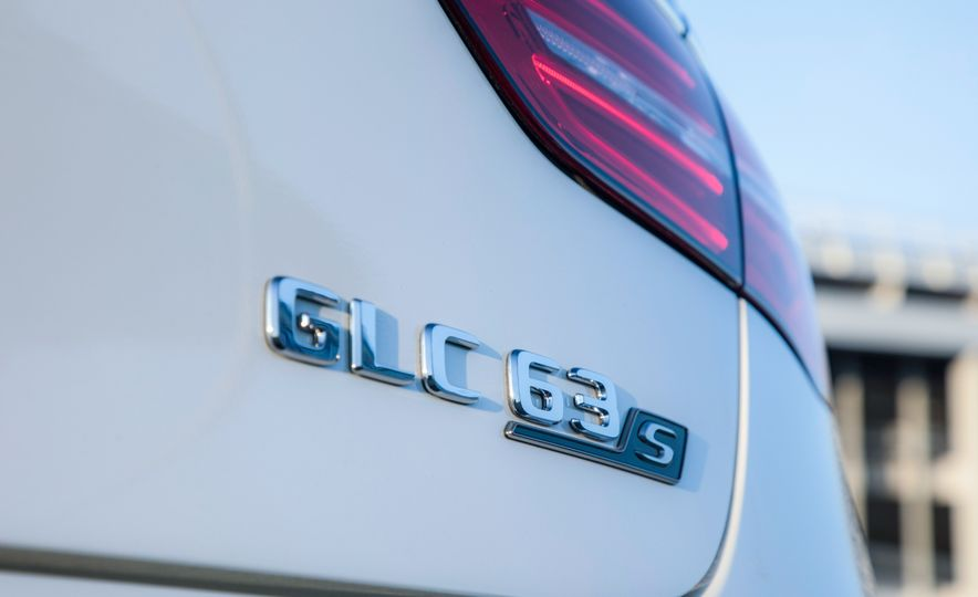 2018 Mercedes-AMG GLC63 S - Slide 86