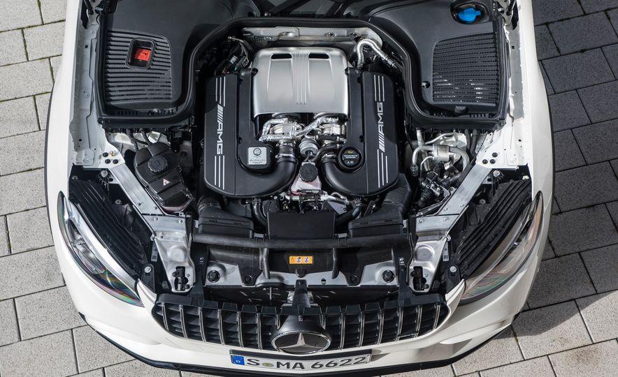 2018 Mercedes-AMG GLC63 S - Slide 90