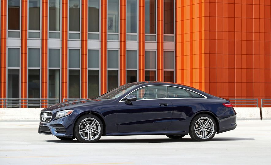 2018 Mercedes-Benz E400 coupe - Slide 20