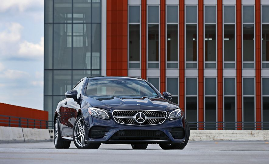 2018 Mercedes-Benz E400 coupe - Slide 26