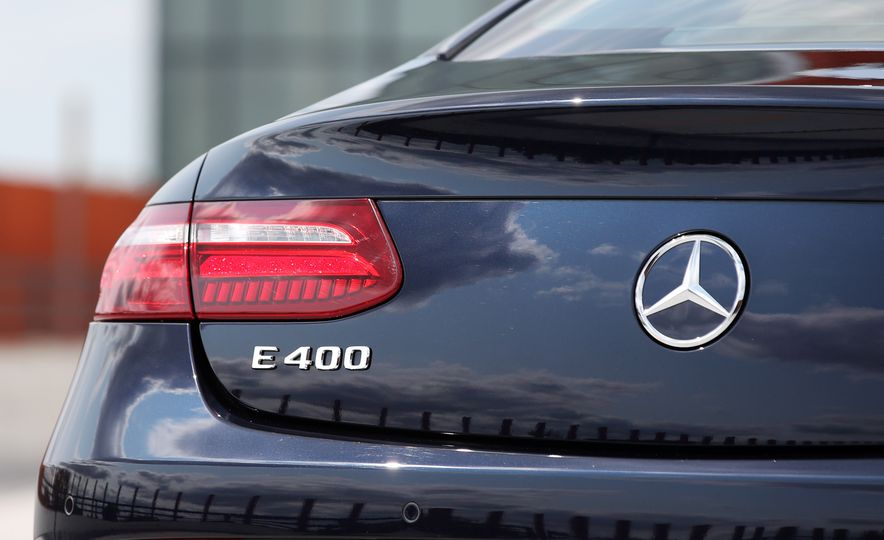 2018 Mercedes-Benz E400 coupe - Slide 37