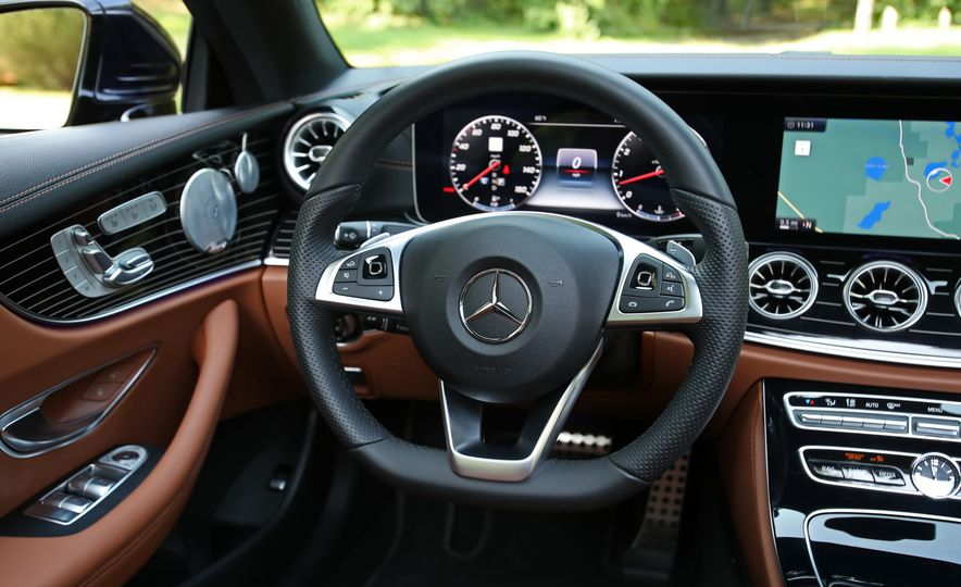 2018 Mercedes-Benz E400 coupe - Slide 43
