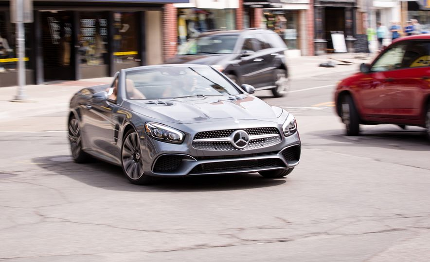 2017 Mercedes-Benz SL450 - Slide 1
