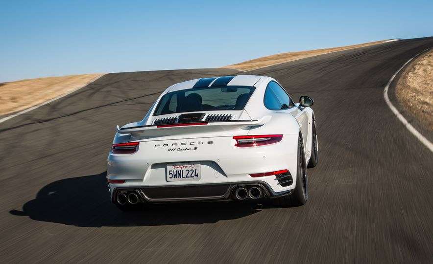 2018 Porsche 911 Turbo S Exclusive - Slide 21