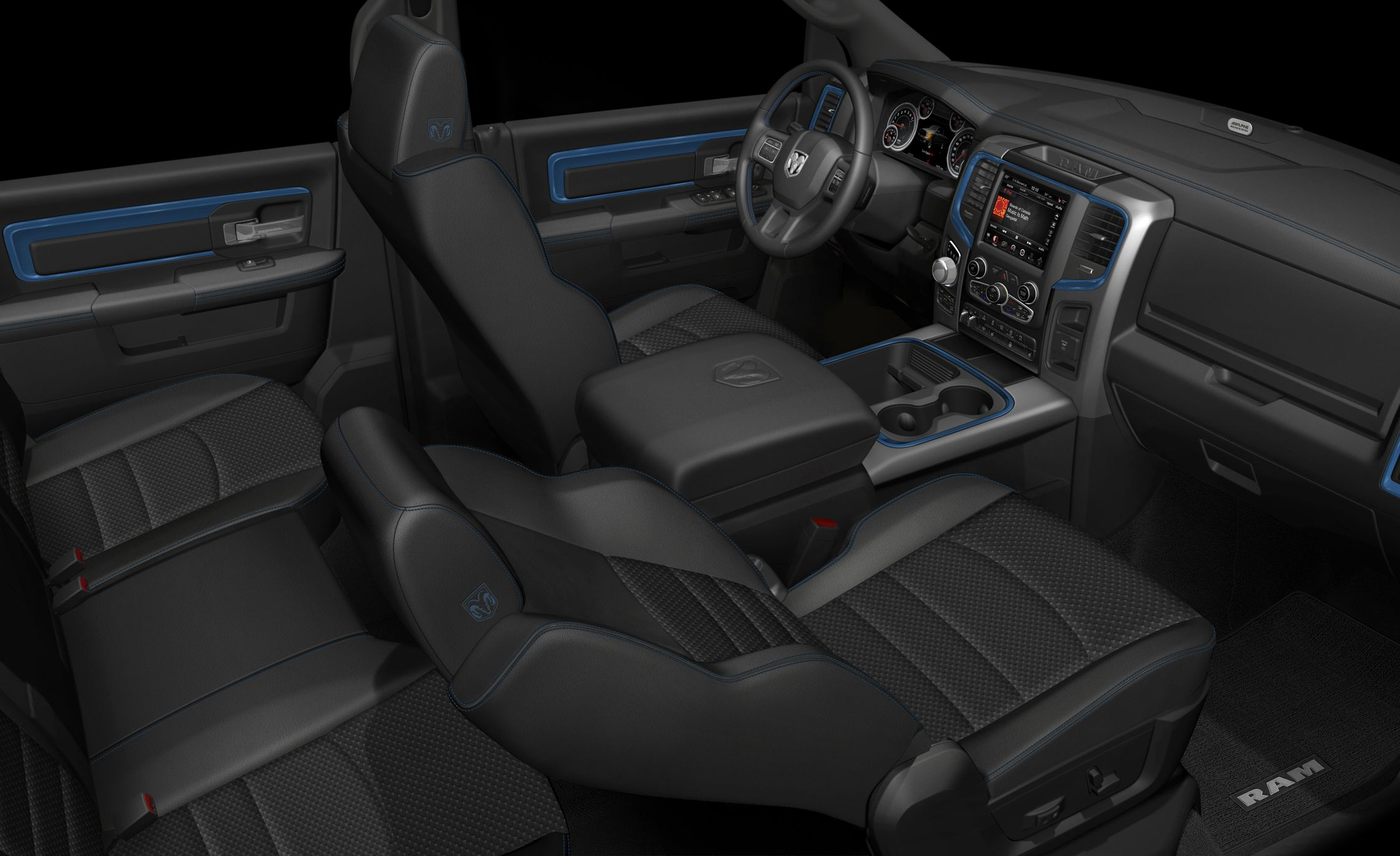 Hydro Blue Sport Is A New Ram 1500 Pickup News Car And Driver