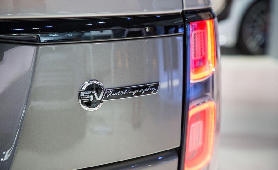 2018 Land Rover Range Rover SVAutobiography LWB - Slide 25