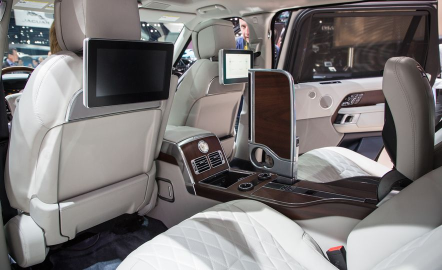 2018 Land Rover Range Rover SVAutobiography LWB - Slide 31