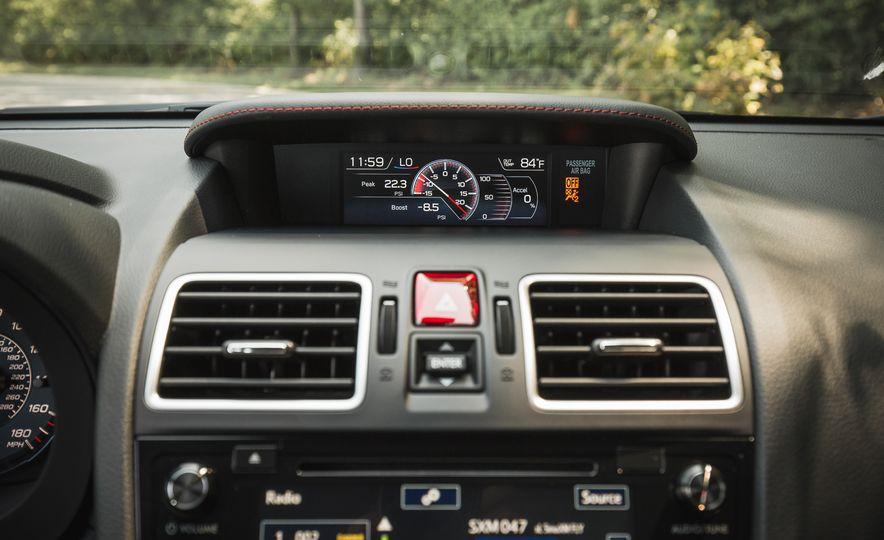 2018 Subaru WRX - Slide 36