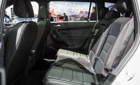 2018 Volkswagen Tiguan Dons Sporty R-Line Costume