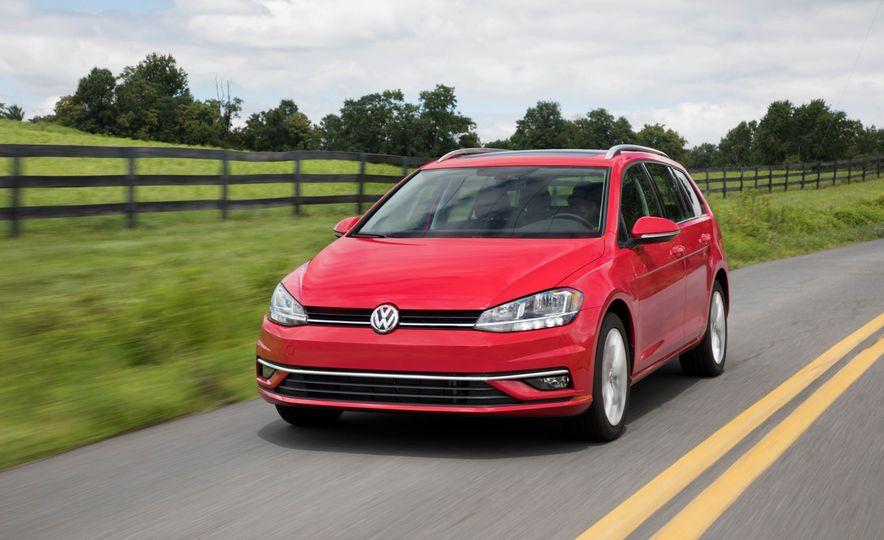 2018 Volkswagen Golf SportWagen - Slide 60