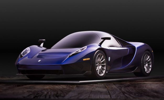 The 650-Horsepower Scuderia Cameron Glickenhaus 004S Has a Central Driving Position